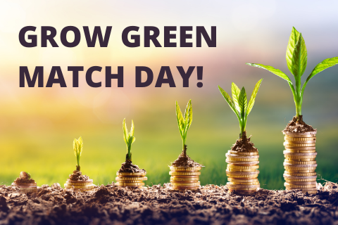 Grow Green Match Day: April 22