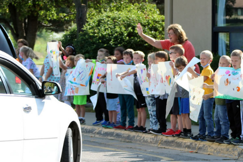 Grandparents Day Parade!