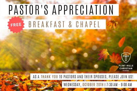 Pastor's Appreciation Breakfast & Chapel